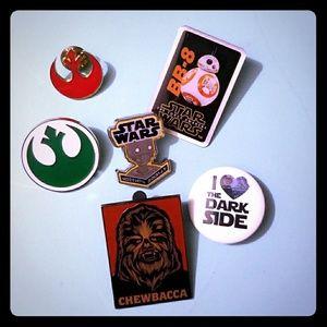 Star Wars pins Disney